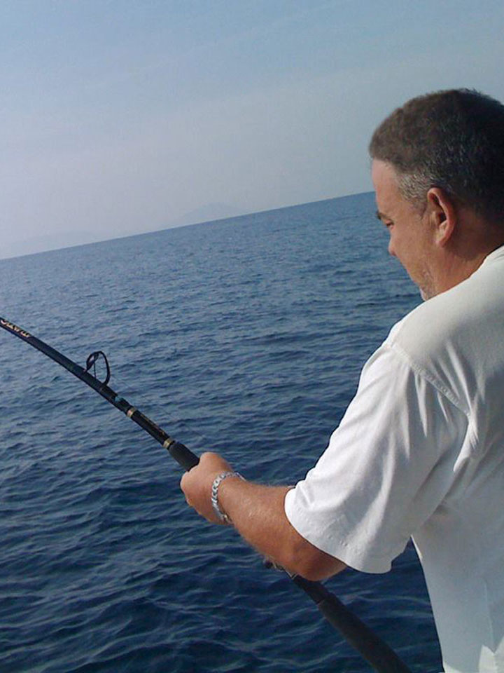 Fishing in Greece